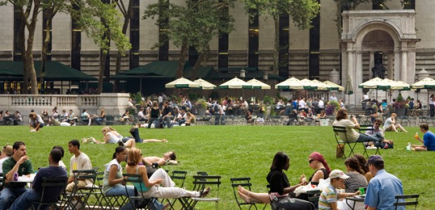 I'll admit, I haven't explored a whole lot of parks in New York, but so far Bryant Park is my favourite. Where else can you sit on a hot summer […]