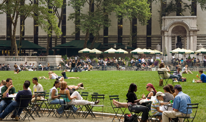 21 Bryant Park Best Park In The City