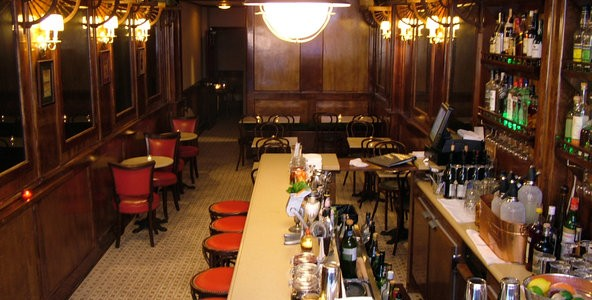 Built within a former laundromat in a sleepy bit of the West Village, the Orient Express cocktail bar is impossibly tiny. It creates the impression that you're travelling on the infamous […]