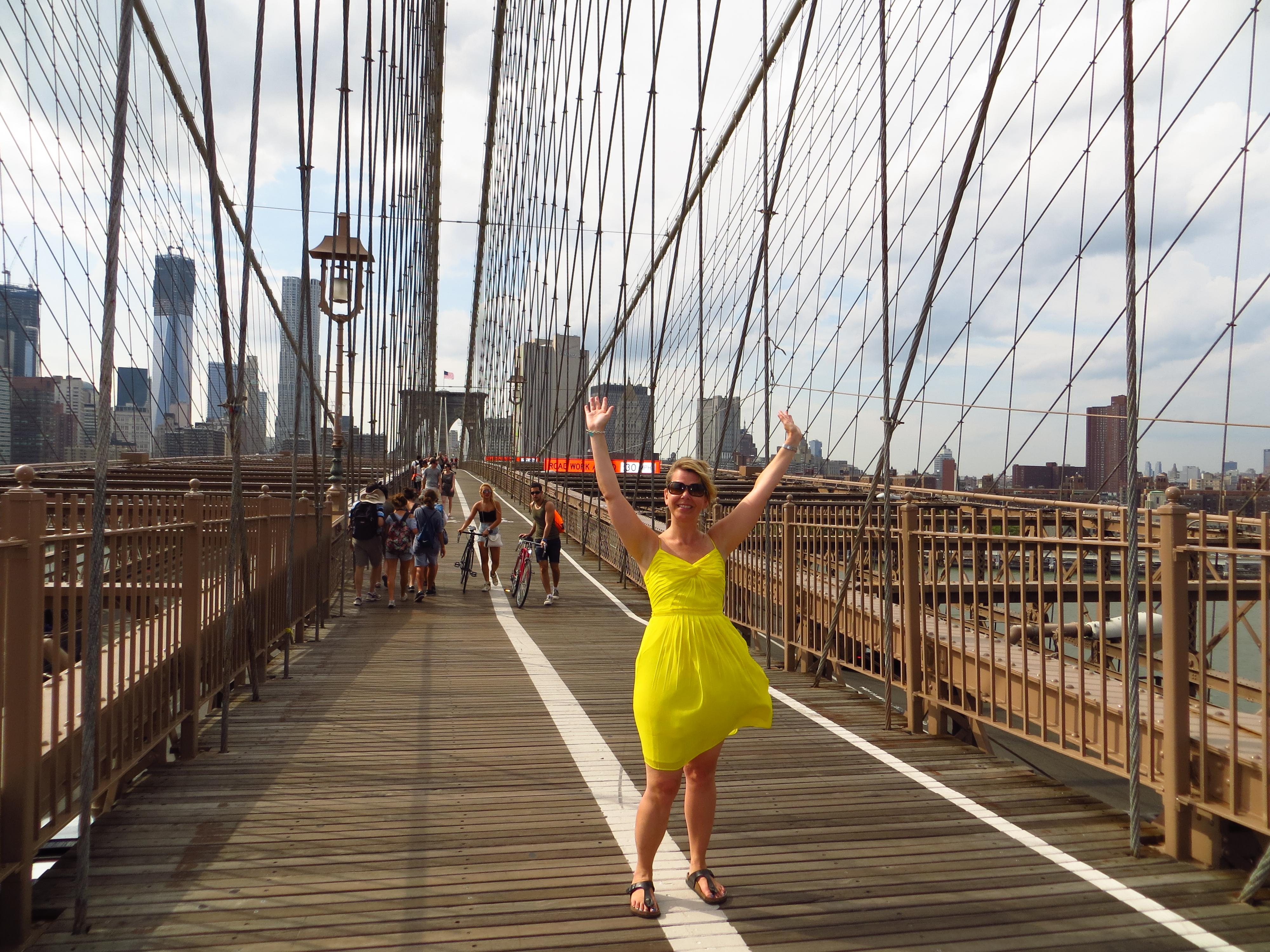 50 Walk The Brooklyn Bridge 1000thingsnyccom