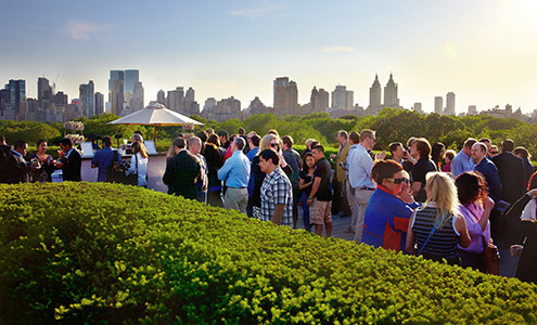 109 A Drink And A View At Met Roof Garden 1000 Things To