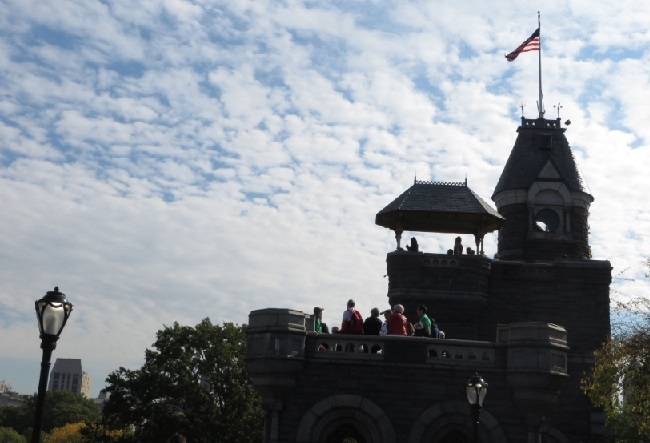 Central Park NYC - Belvedere Castle