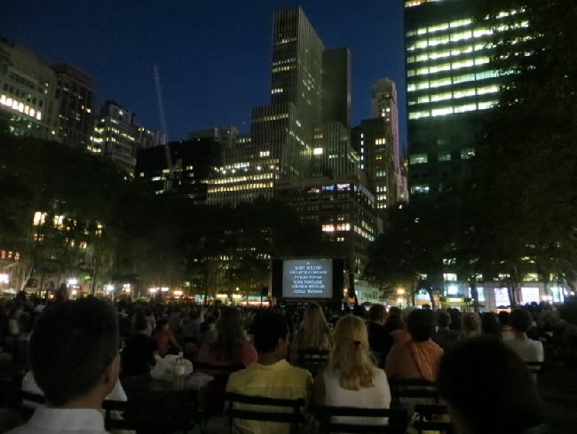 Movies in Bryant Park