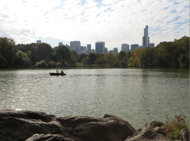 Central Park NYC - The Lake