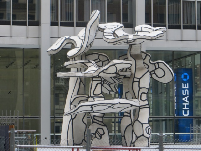 Dubuffet Four Trees