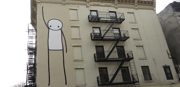 Last fall, Stik invaded New York with a 50 foot mural of a stick figure near Tompkins Square Park in the East Village. Stik a UK street artist, has been […]
