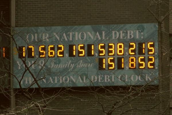National Debt Clock NYC