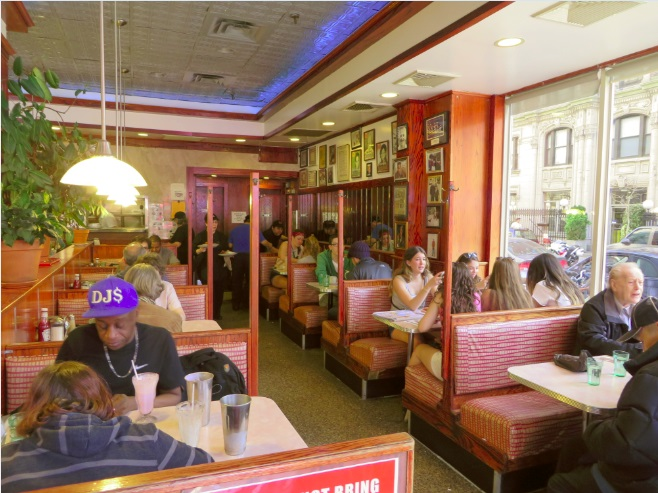 Tom's diner new york