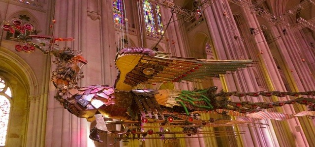 Suspended in the Nave of Saint John the Divine is one of the most surprising and amazing sights you'll see in a church. Phoenix, two huge and majestic birds in […]
